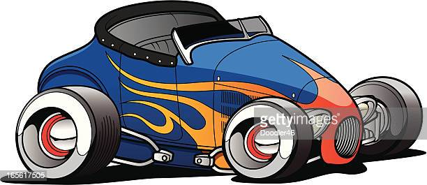 Cartoon Roadster