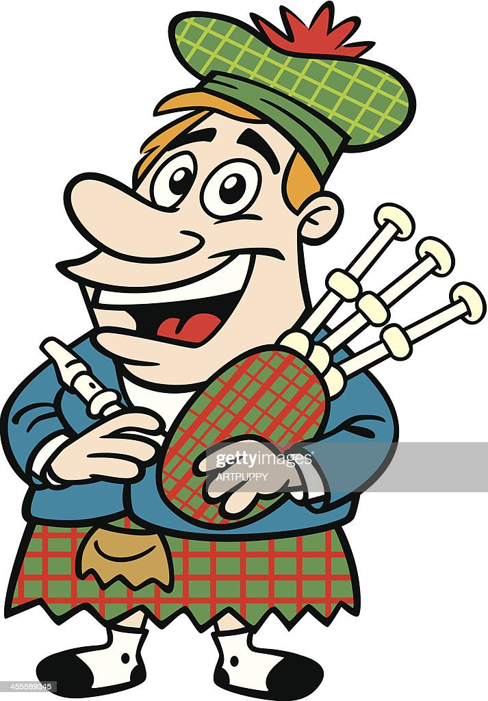 Cartoon Scotsman