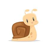 Cartoon snail vector