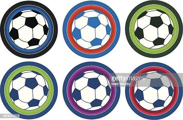 Cartoon Soccer Football