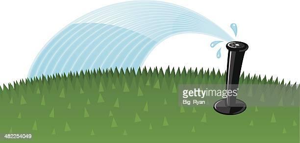 cartoon sprinkler