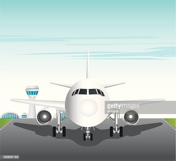 Cartoon Style Aircraft