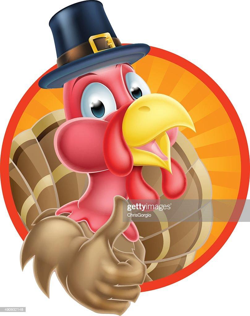 Cartoon Thanksgiving Turkey