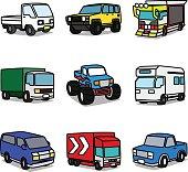 Cartoon Trucks