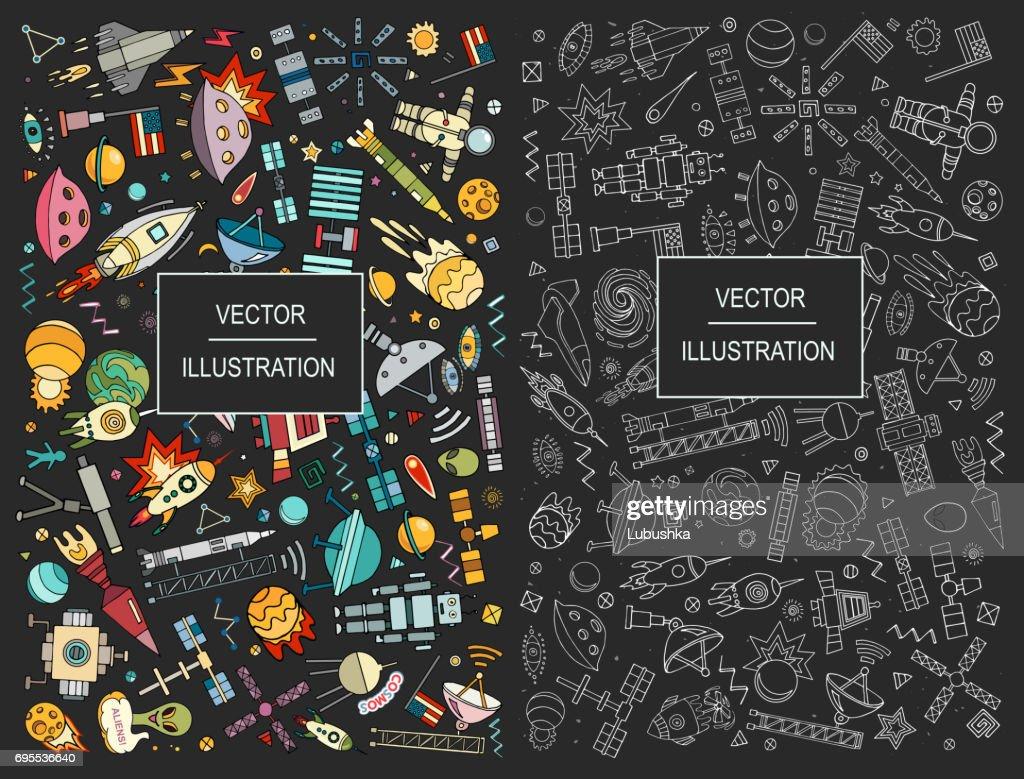 Cartoon vector space