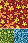 Cartoonish Floral Pattern