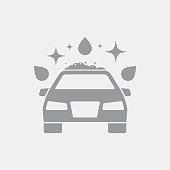 Carwash concept symbol icon