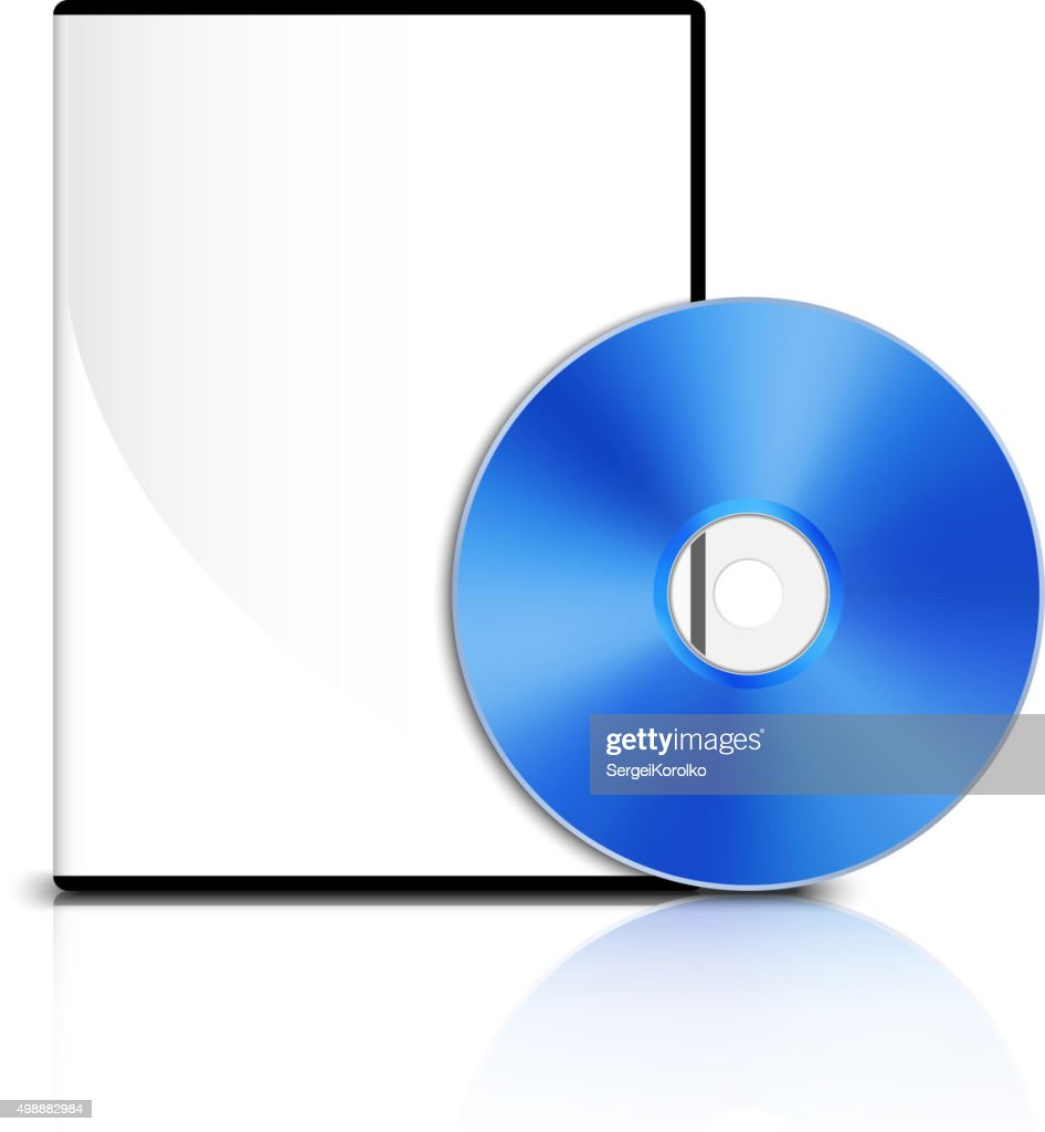 DVD case and DVD disk