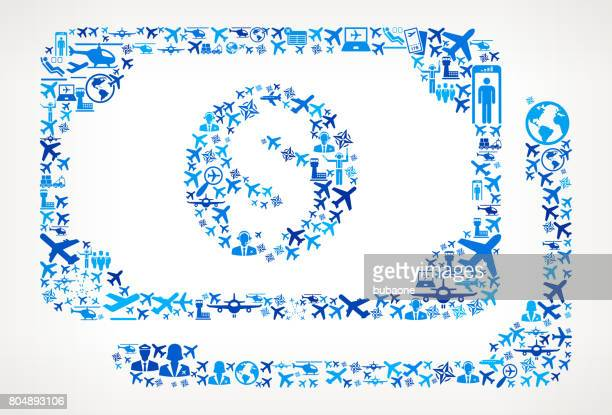 Cash Money  Aviation and Air Planes Vector Graphic