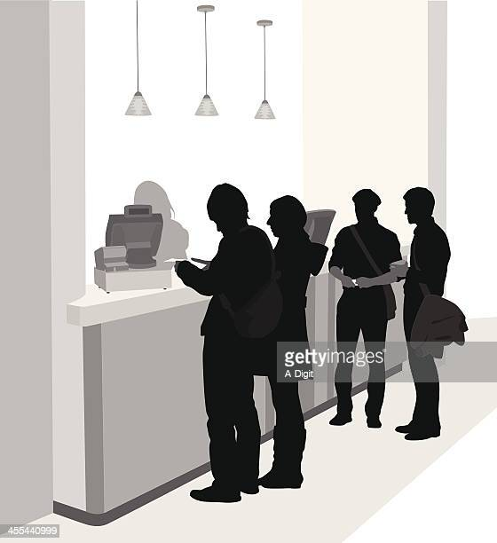 Cashier Lineup