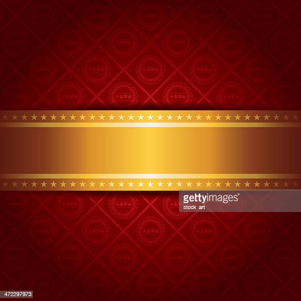 Casino Background with golden stripe