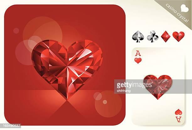 Casino Crystal (Hearts)