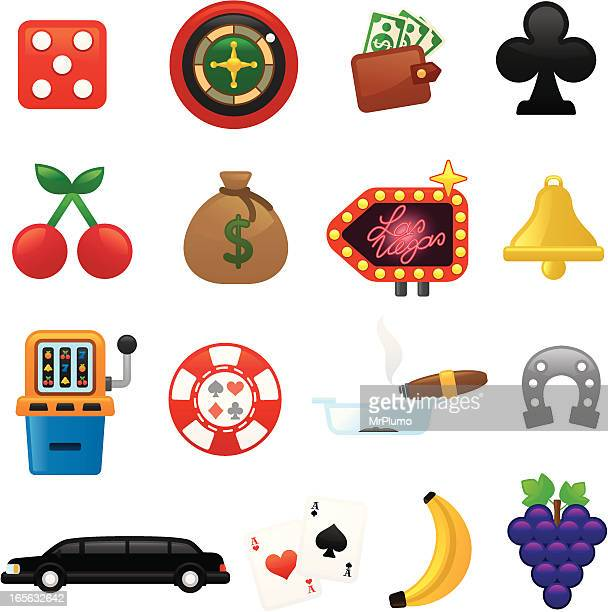 Casino icons | smoso series