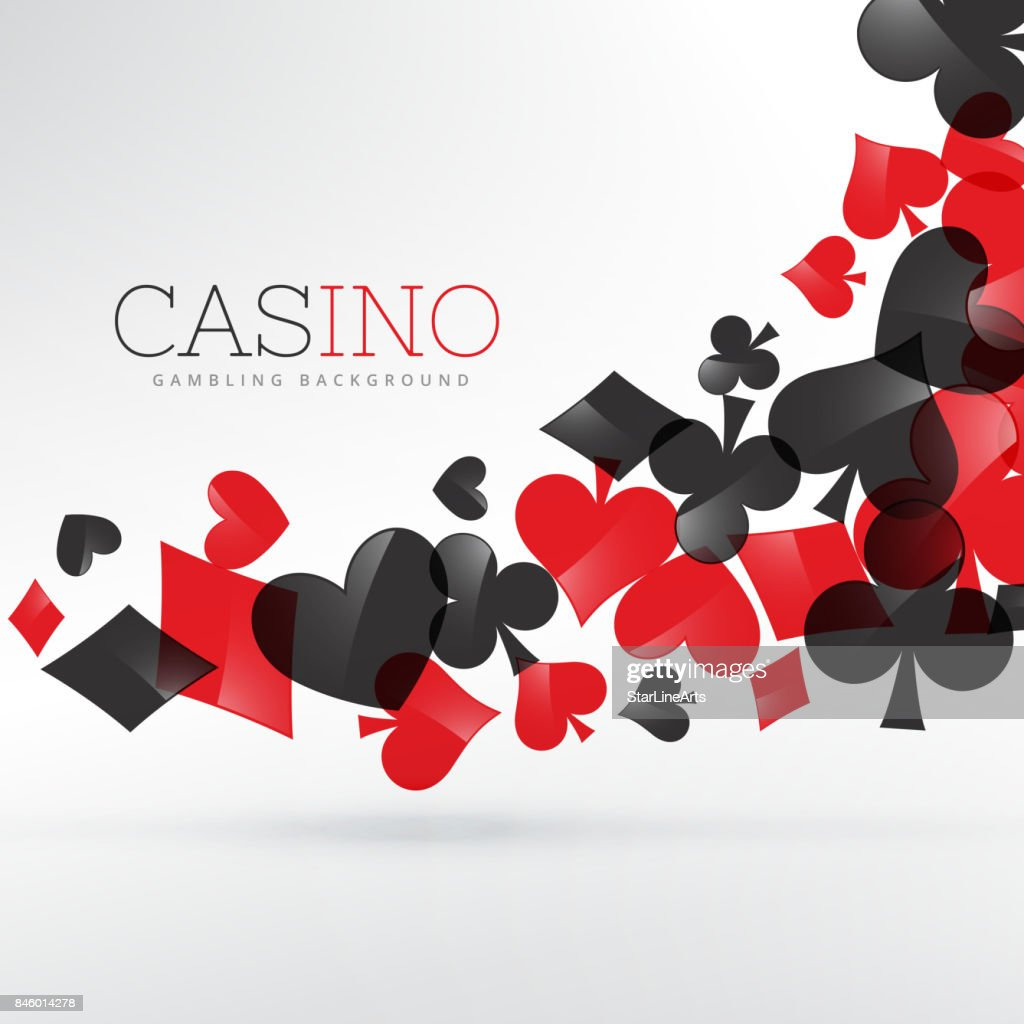 Casino playing cards symbols floating in gray background vector casino playing cards symbols floating in gray background vector art biocorpaavc
