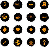 Casino simply icons