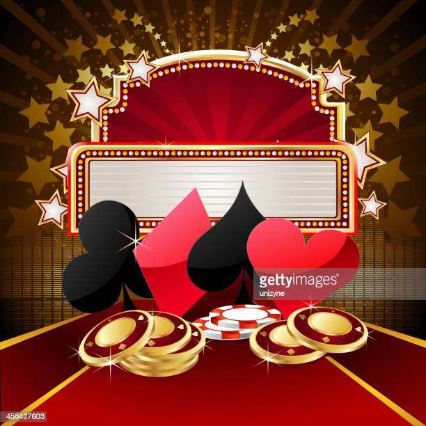 Casino with Marquee Display