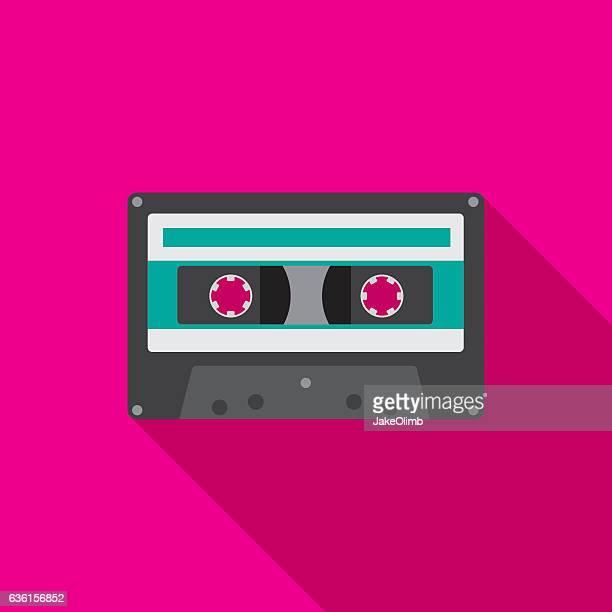 Cassette Icon Flat