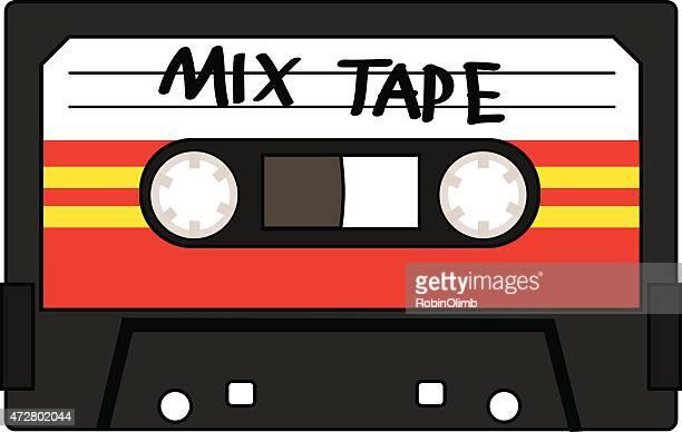 Cassette de cinta de mezcla