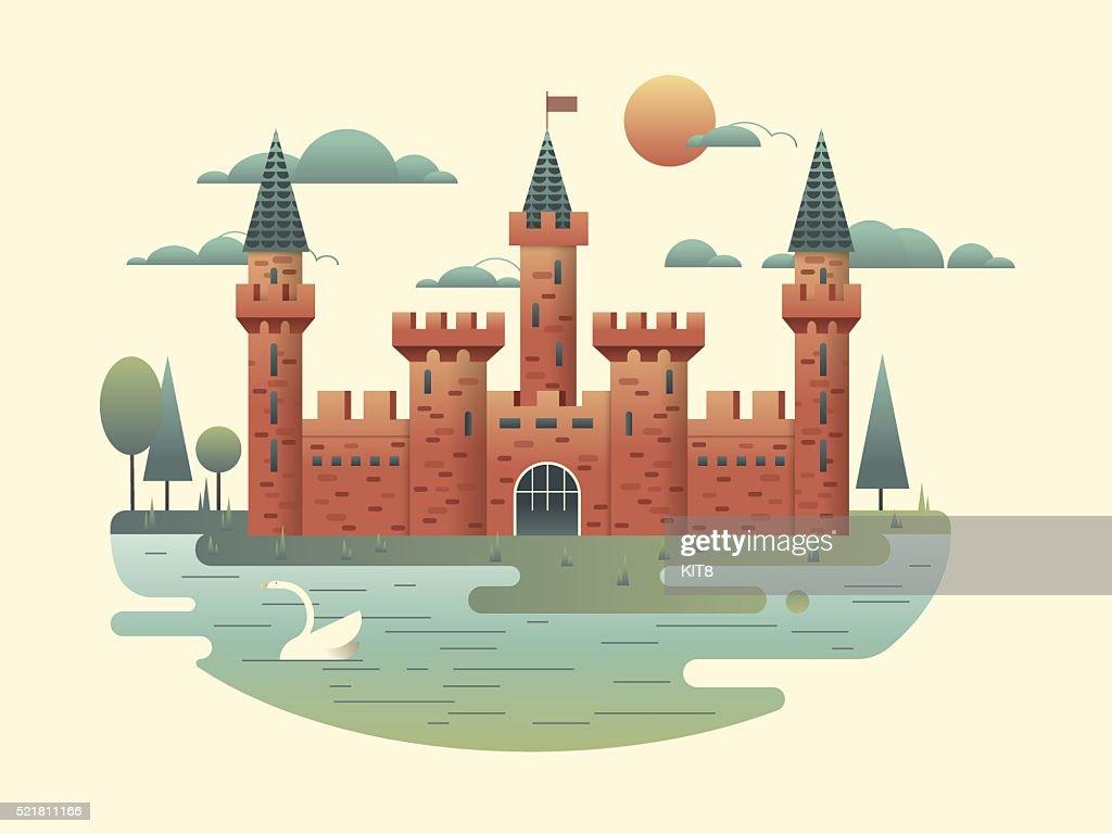 Castle design flat