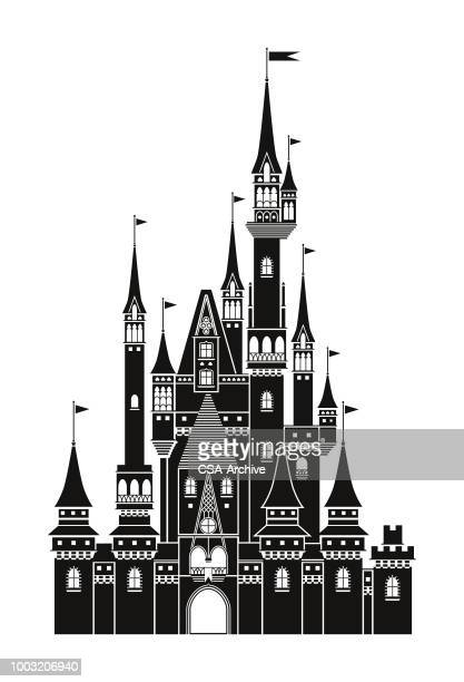 illustrazioni stock, clip art, cartoni animati e icone di tendenza di castle - castle