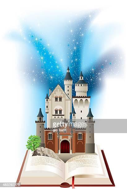 castle - castle stock illustrations, clip art, cartoons, & icons