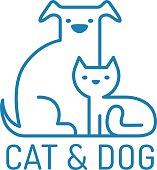 Cat and gog