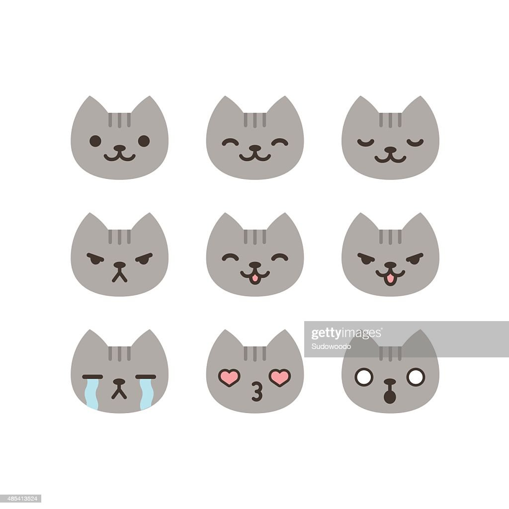 Cat emoticons