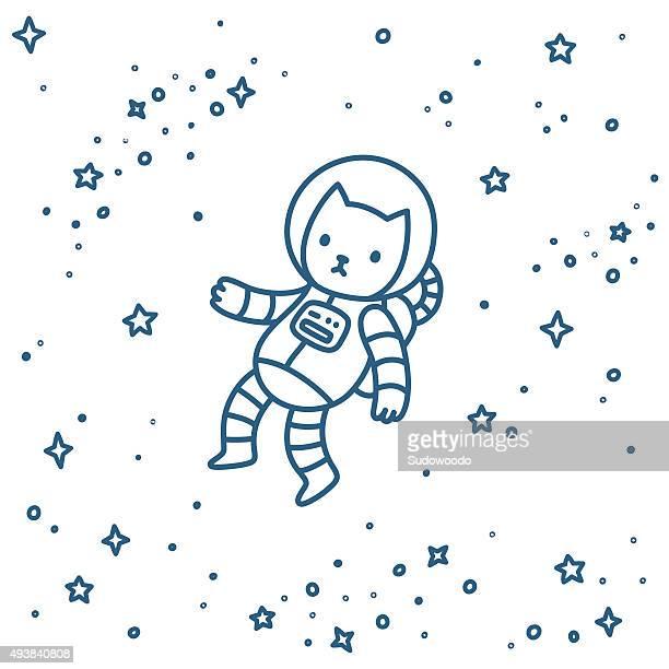 Gato no espaço