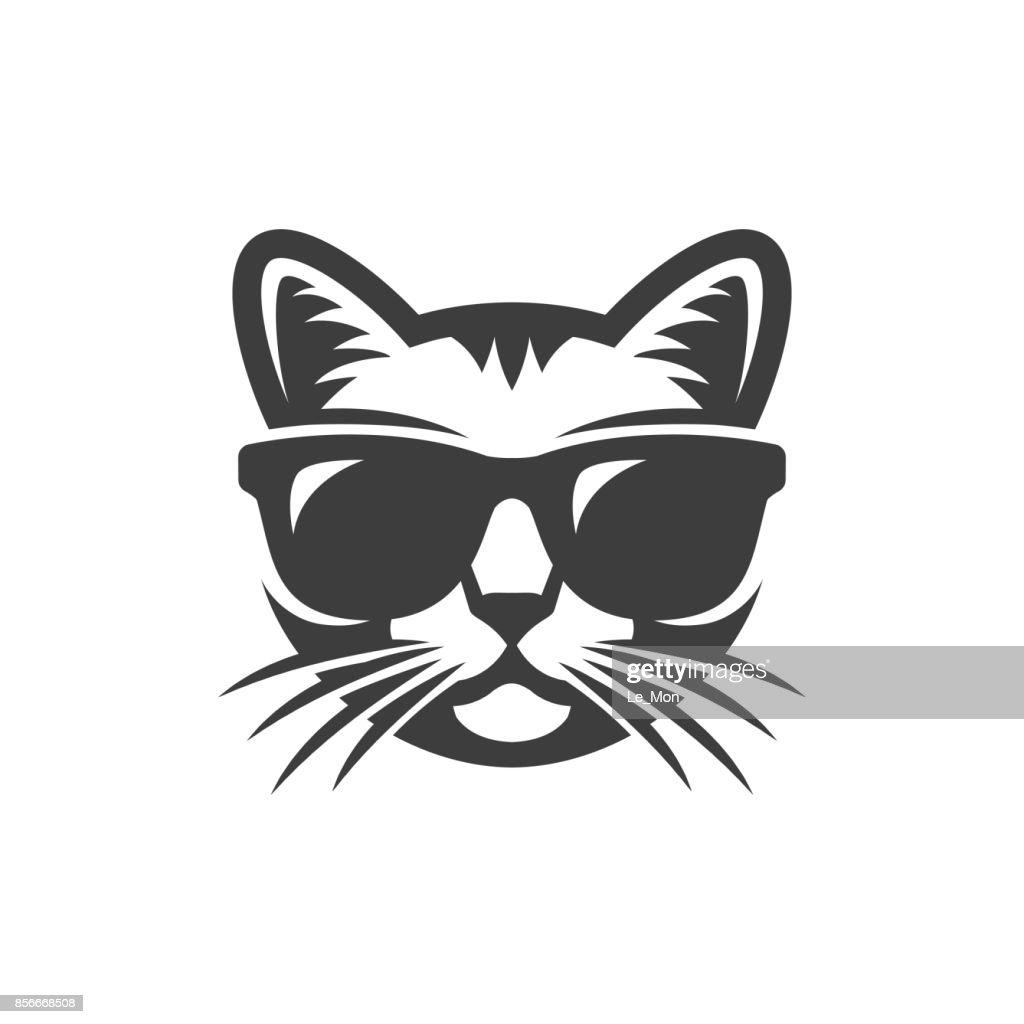 Cat in sunglasses