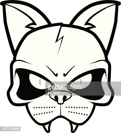 cat skull vector art | thinkstock