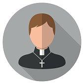Catholic Priest Icon