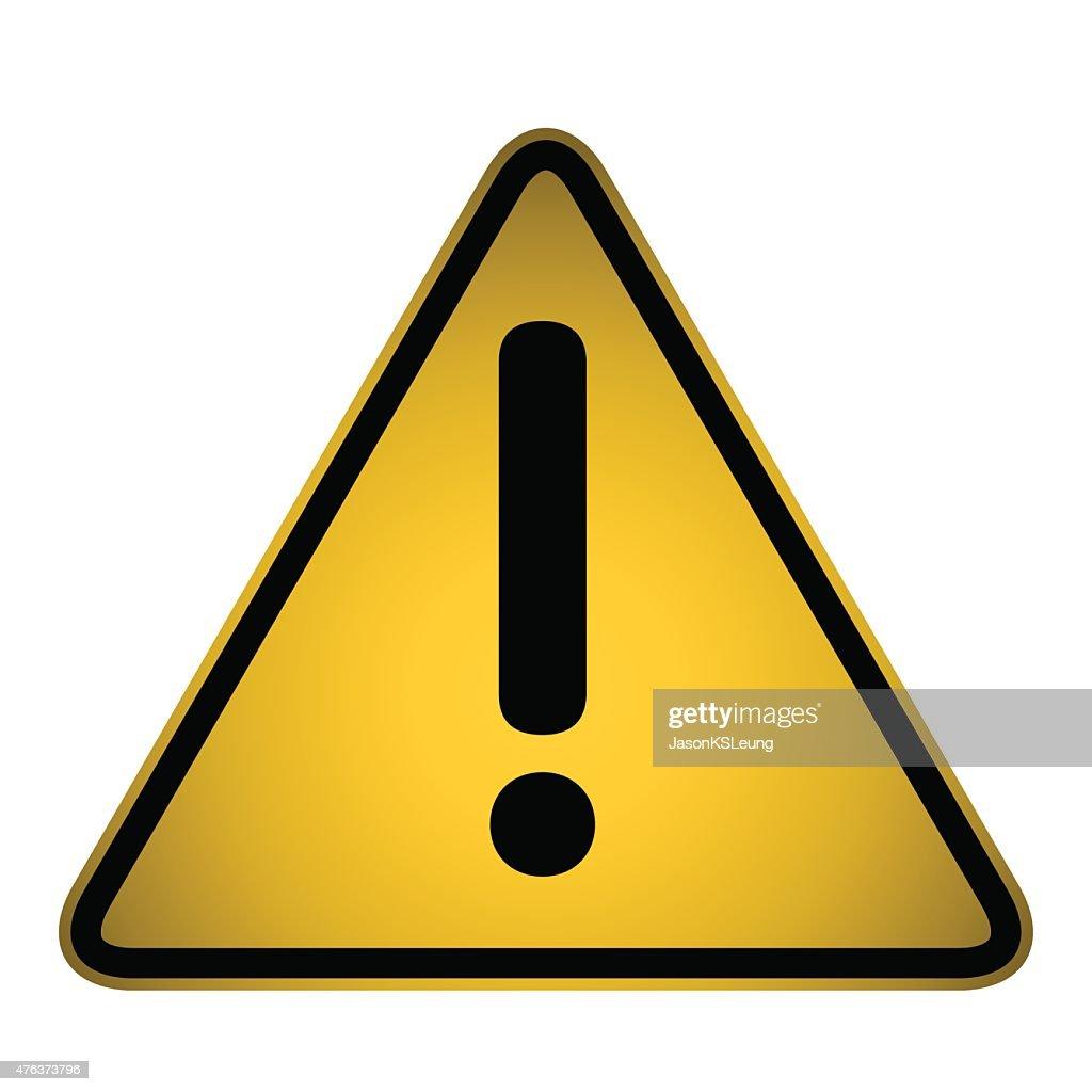 Caution icon- vector