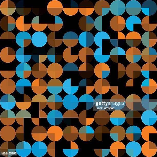 ilustraciones, imágenes clip art, dibujos animados e iconos de stock de cueva patrón geométrico circle pie cuadrado - frank ramspott