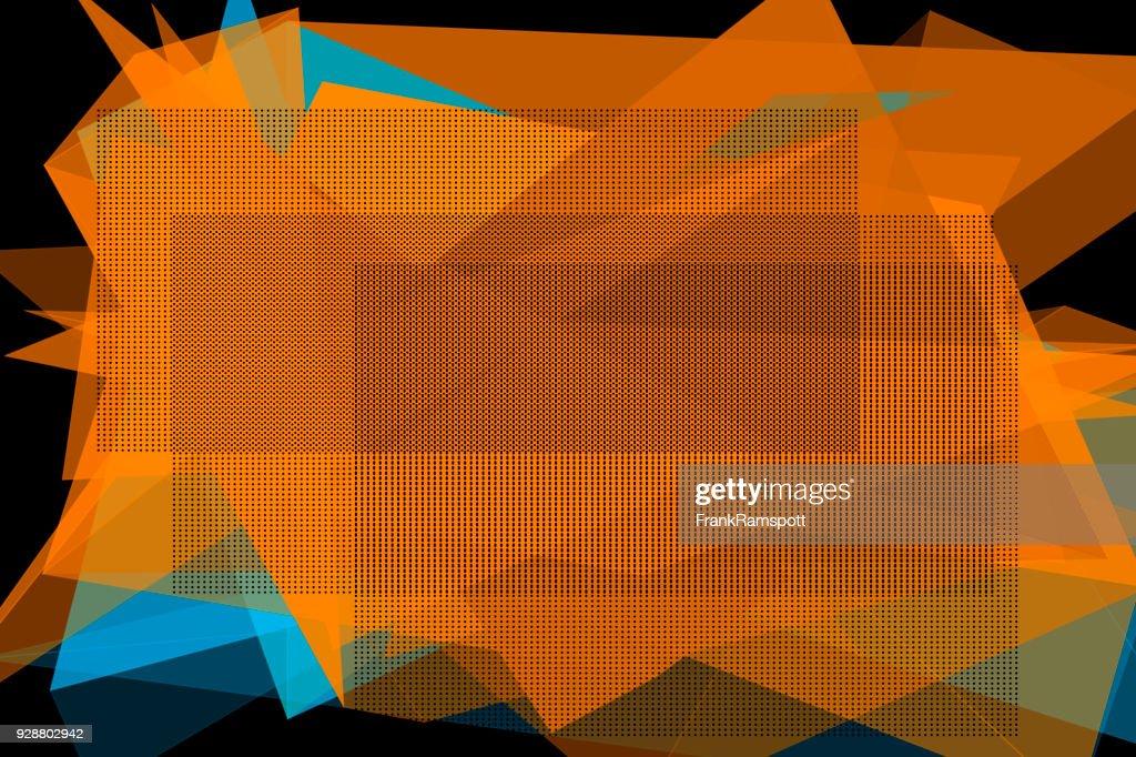 Höhle Vektor Polygon Design Pattern Horizontal : Stock-Illustration