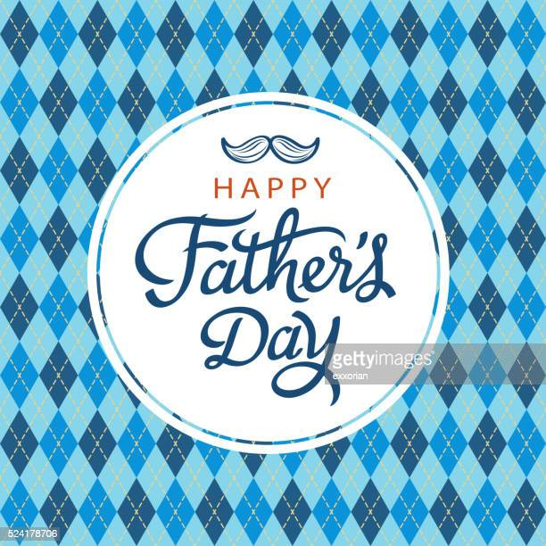 celebrate father's day - moustache stock illustrations