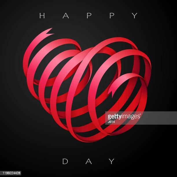 愛を祝う - 結婚記念日のカード点のイラスト素材/クリップアート素材/マンガ素材/アイコン素材