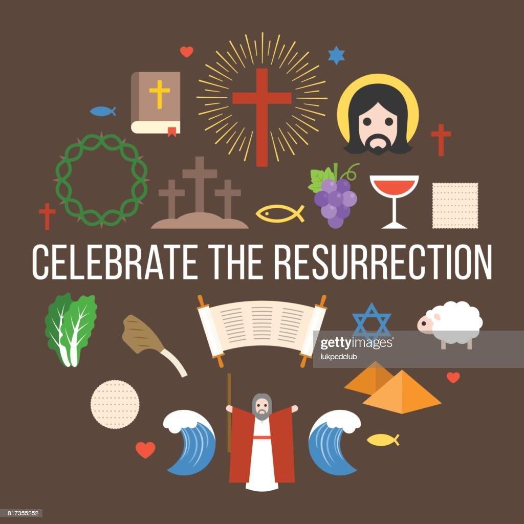Celebrate the resurrection of jesus
