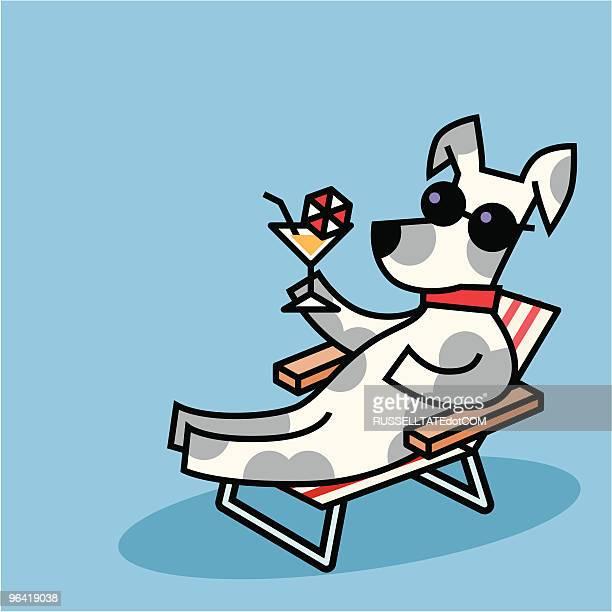 illustrations, cliparts, dessins animés et icônes de chien célébrant les - chien humour