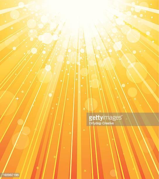 celebration abstract background - solar flare stock illustrations, clip art, cartoons, & icons