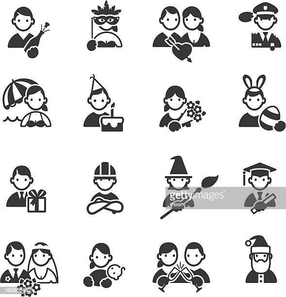 ilustraciones, imágenes clip art, dibujos animados e iconos de stock de celebración de los iconos - roscadepascua