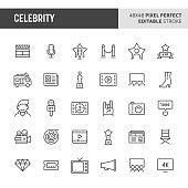 Celebrity Icon Set