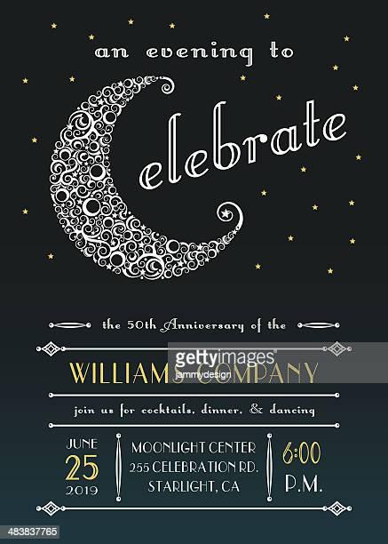 Celestial Celebration Party Invitation