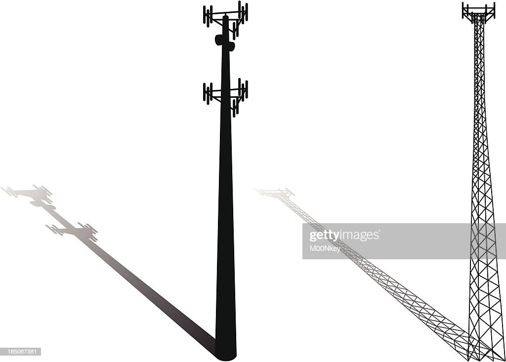 Cell tower vector