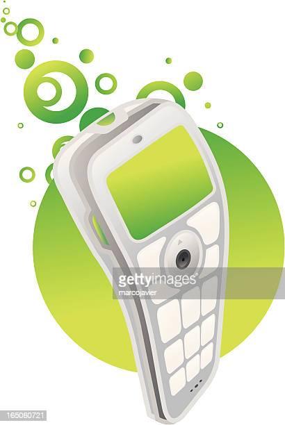 cellphone moves - Green