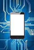 Cellphone on circuit
