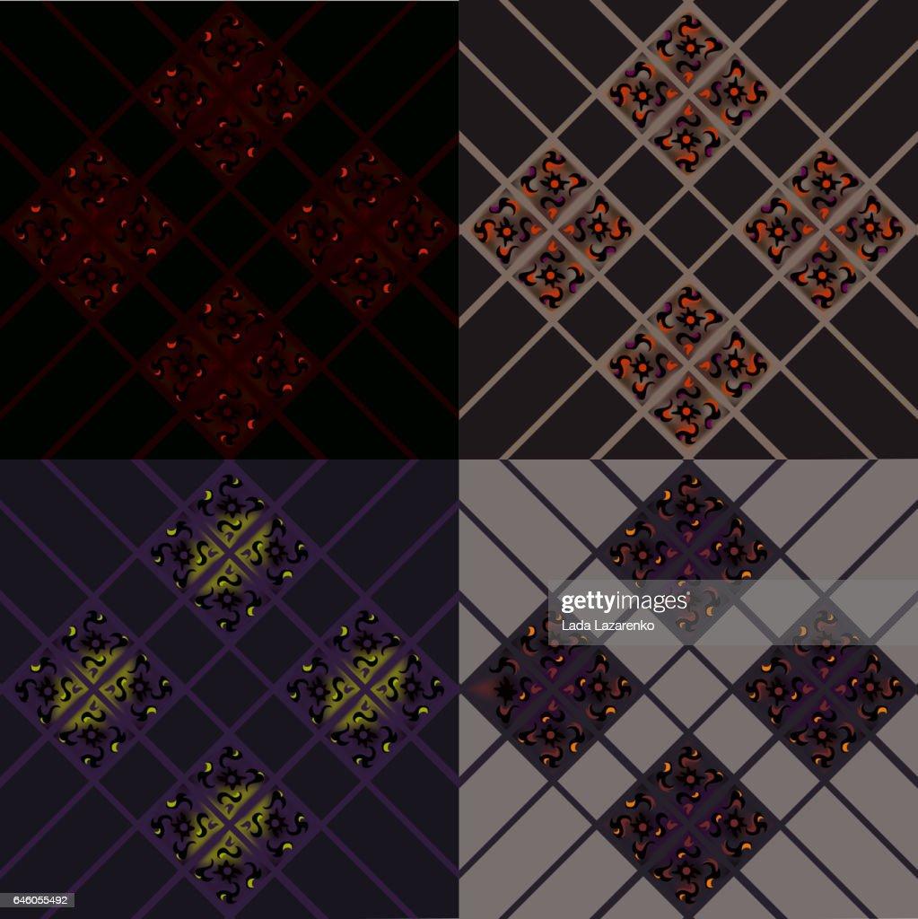 Cellular texture pattern