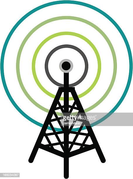 Cellular tower illustration picture