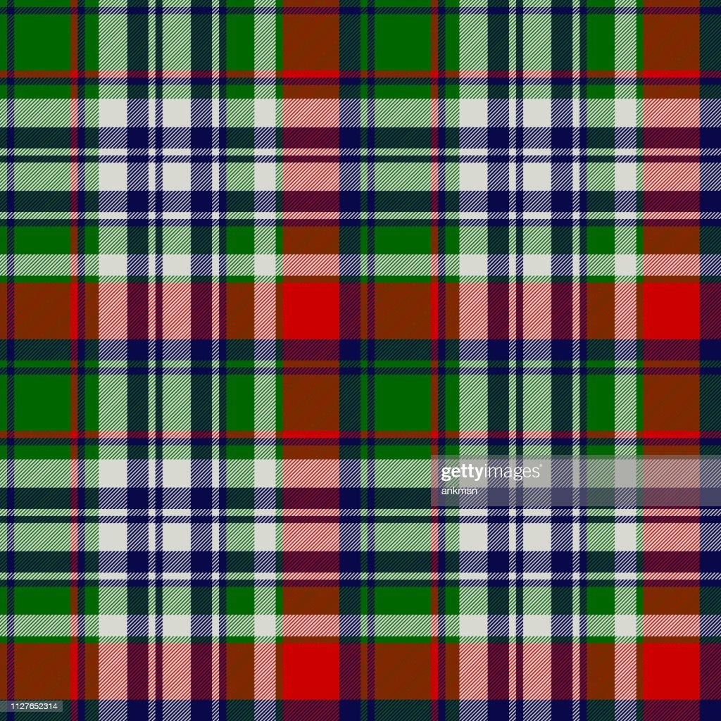 Celtic classic check plaid seamles pattern