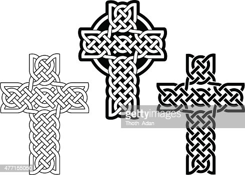 Celtic Cross Vector Art Getty Images