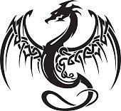 Celtic Dragon Insignia